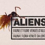 Affiche Expo Aliens - (c) ALIEM - Centre de ressources EEE