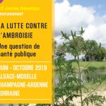 Affiche journée lutte ambroisie (c) FREDON - Centre de ressources EEE