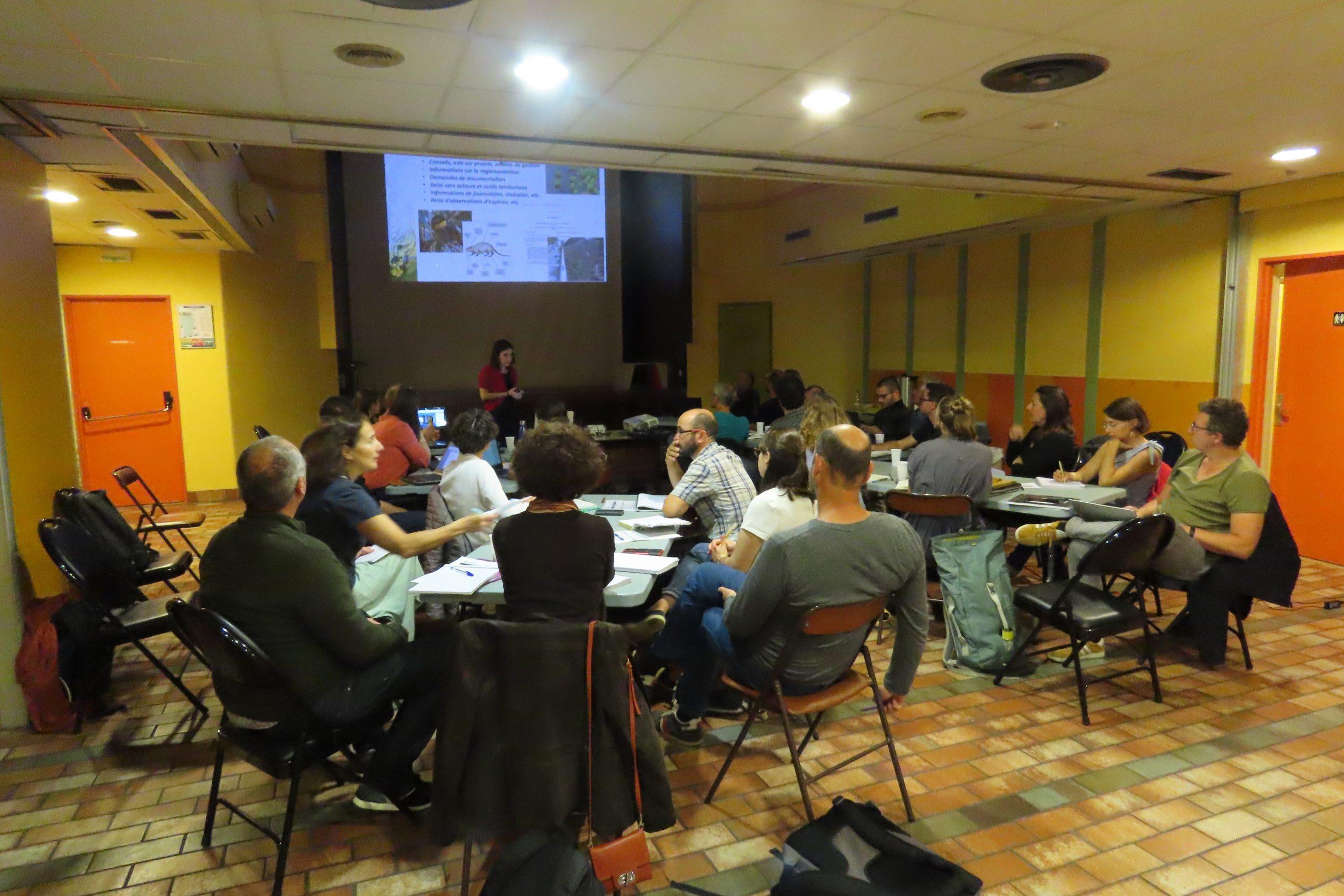 Reunion REST 2 octobre 2019 Arles - (c)A. Dutartre - Centre de ressources EEE